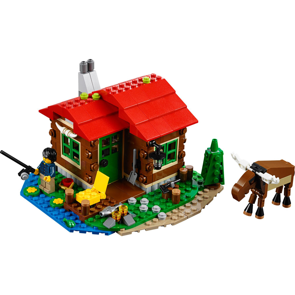 Lakeside Lodge LEGO Creator 31048 - ShopSmartMarket