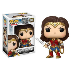Funko POP! Movies: Justice League Wonder Woman - ShopSmartMarket