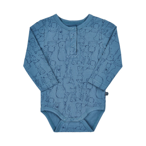 Boys Blue Bodysuit