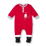 Ski Santa Coverall with Faux Leather Boots