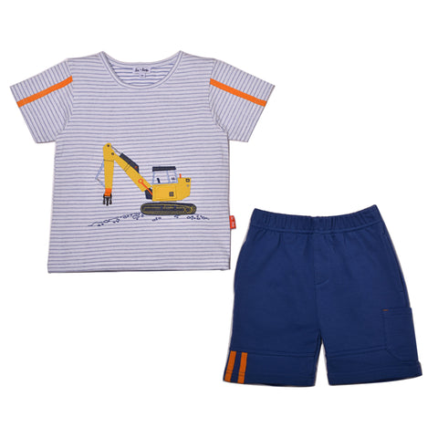 """Let's Build"" Tee & Short"