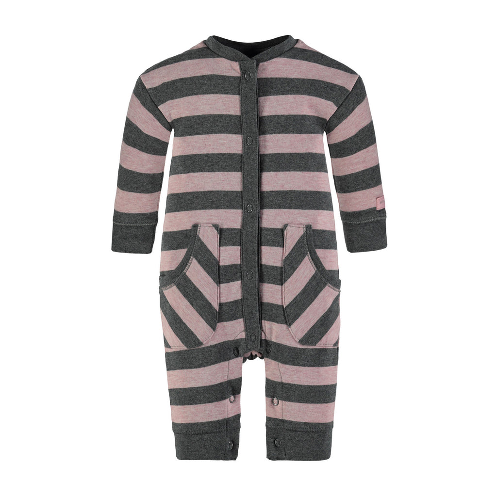 Baby Girls Long Sleeve Overall