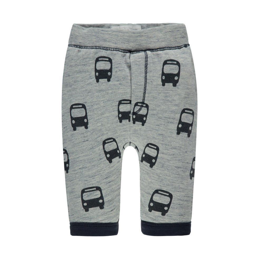 Boys Bus Print Jogging Pants