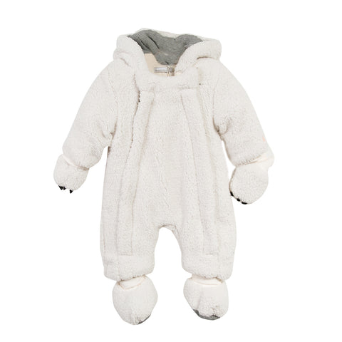 Fantastical Winter Tales Faux Fur Hooded Snowsuit