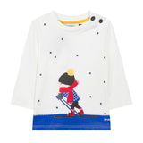Boys Ski Graphic T-shirt