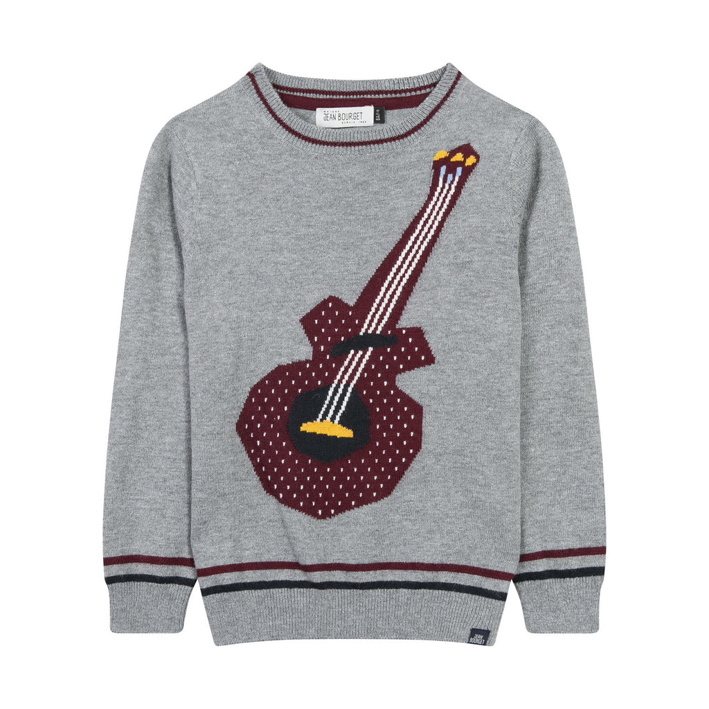 Guitar Graphic Sweater