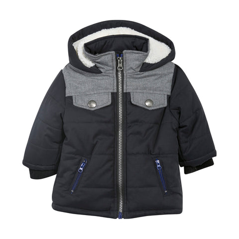 Zip Pockets Winter Jacket
