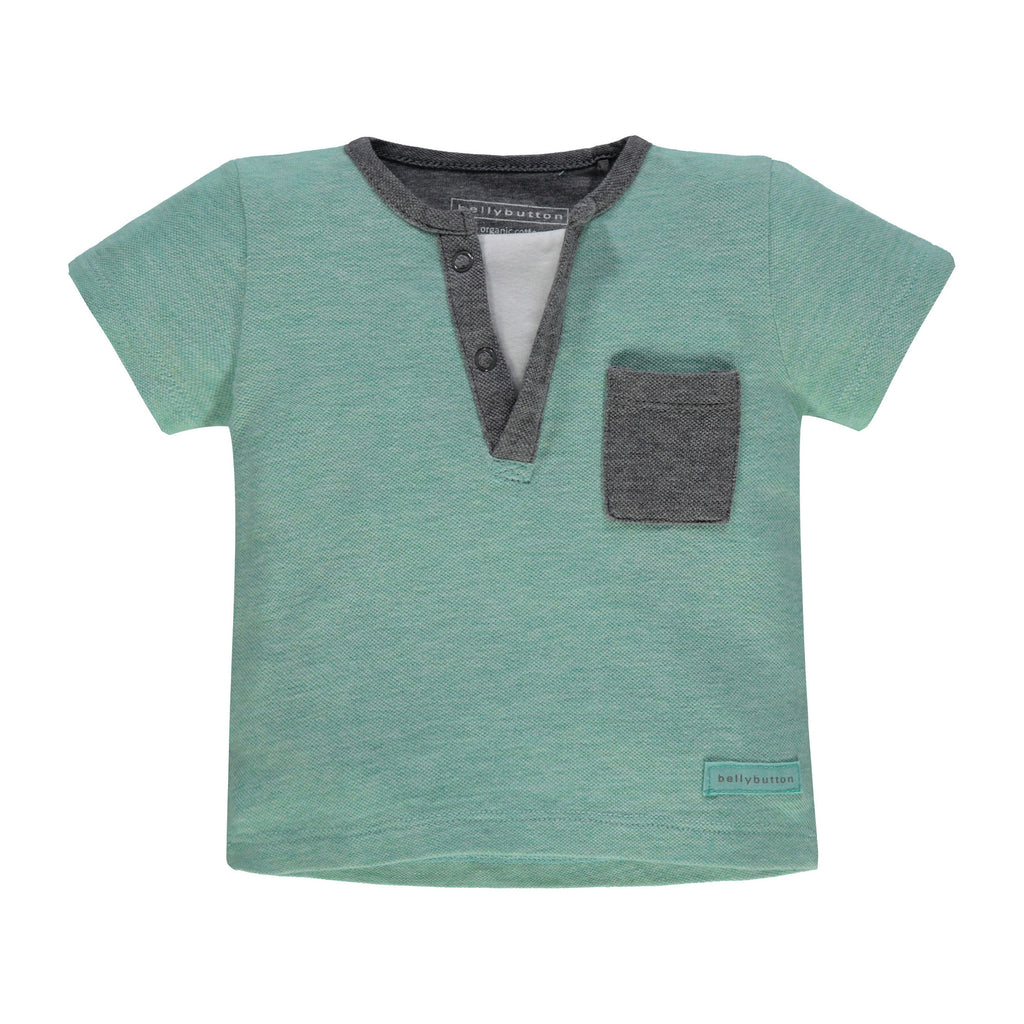 Baby Boys Minty Tee - Organic Cotton