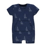 Baby Boys Short Sleeve Playsuit