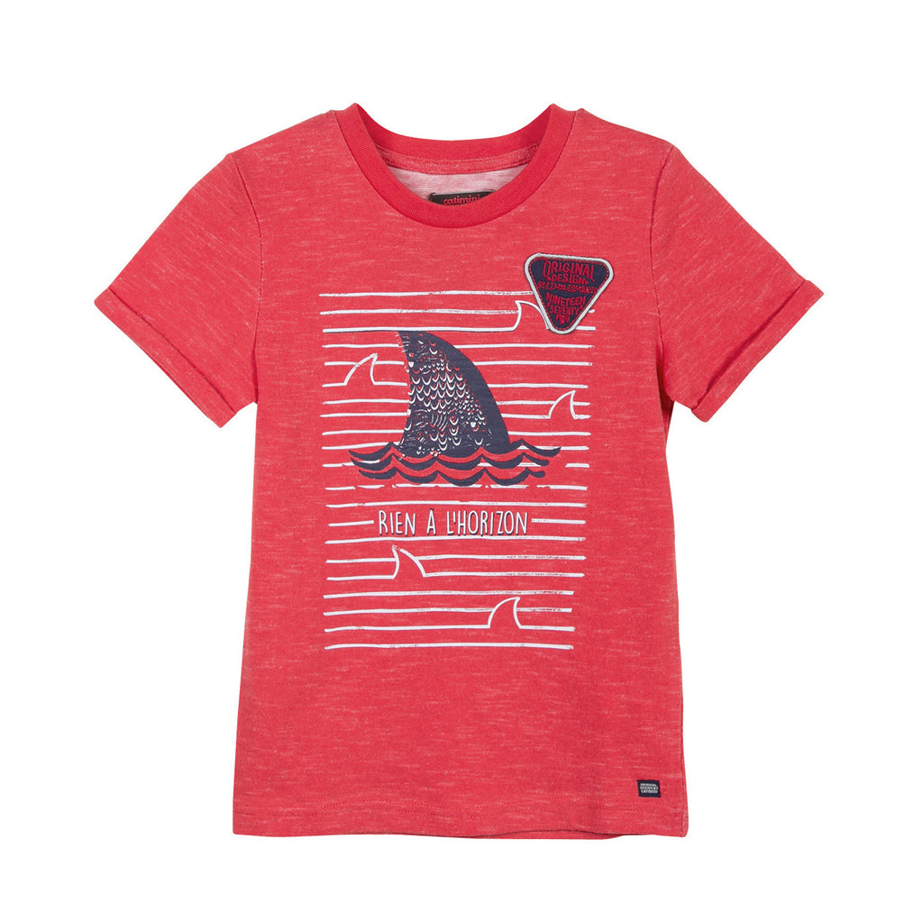 Boys T-shirt with Shark Pattern