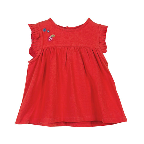 Girls Ruffle T-shirt