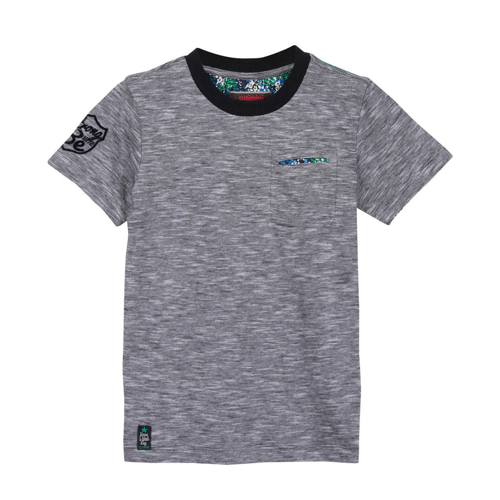 Boys Micro Stripe T-shirt