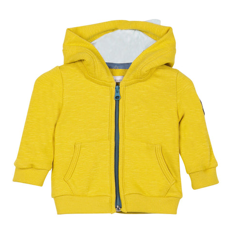 Zip-up Fleece Hoodie
