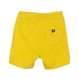 Yellow Fleece Shorts