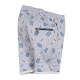 Boys Printed Fleece Shorts
