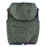 Boys Reversible Sleeveless Padded Jacket- Cedar