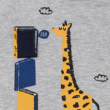 Giraffe's Reading Day T-shirt