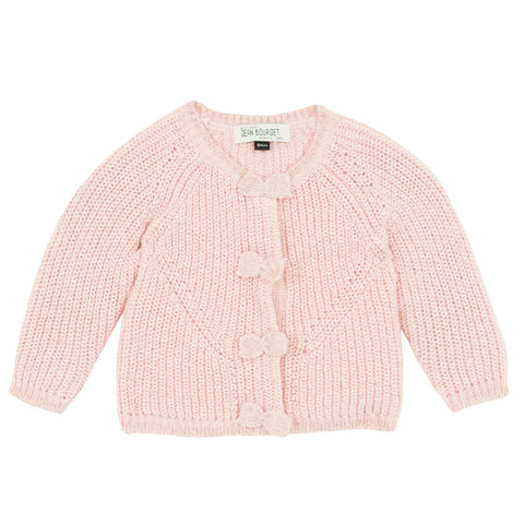 Baby Girls Bow Cardigan