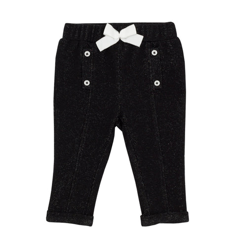 Baby Girls Lurex Leggings