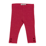 Baby Girls Fuchsia Leggings