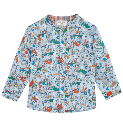 Baby Boys Blue Shirt