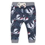 Baby Boys Neo Jogging Pants in Lobster Printed Fleece