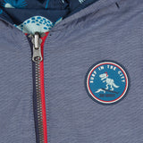 Baby Boys Dino Reversible Jacket