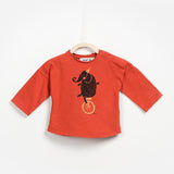 Elephant Jersey Long Sleeve T-shirt