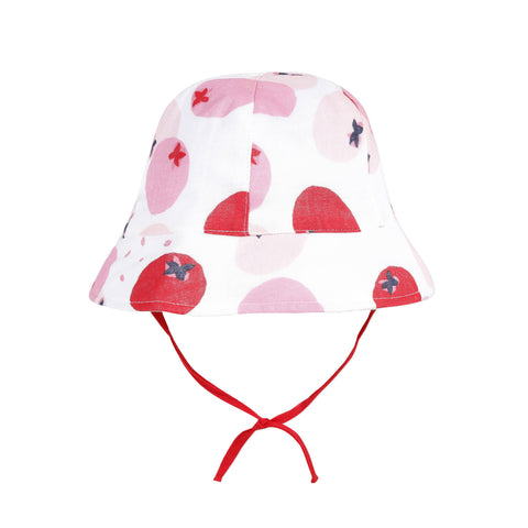 Baby Girls Rouge Apple Sun Hat