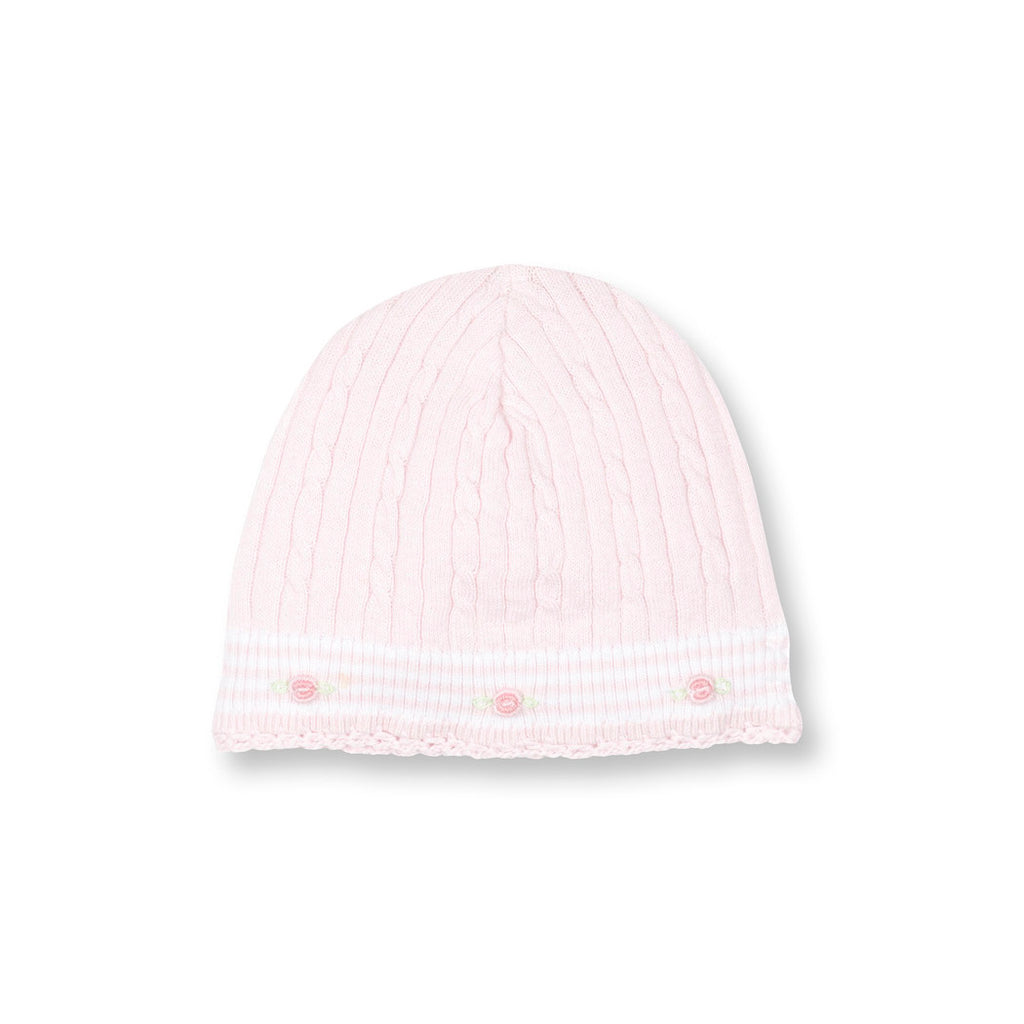 Rosebuds Sweater Knit Cap
