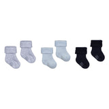 Baby Terry Cloth Bouclette Socks Set - Three Pairs