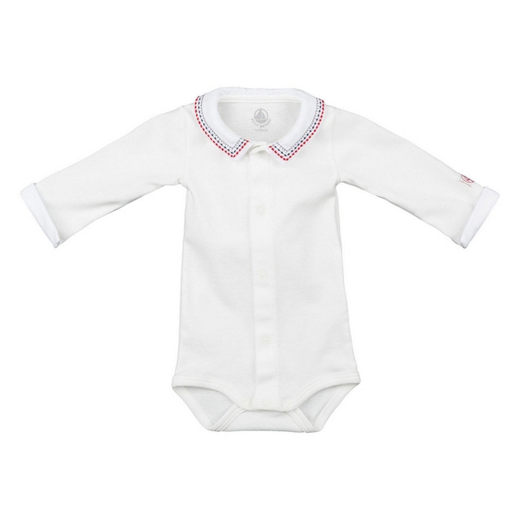 Baby Long Sleeve Bodysuit with Collar
