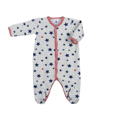 Baby Boys Star Print Sleeper