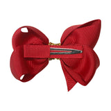 Girls Medium Boutique Bow - Christmas Glitter