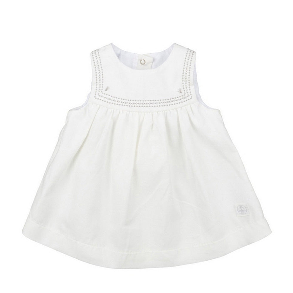 Baby Girl Sleeveless Corduroy Dress