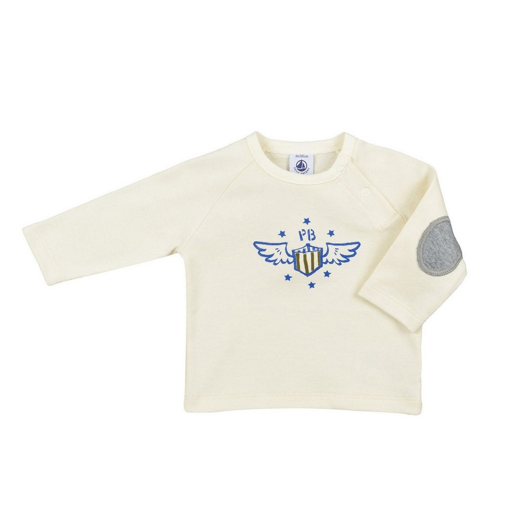 Baby Boy Long Sleeve Graphic Shirt