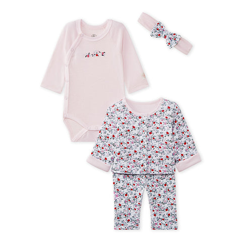 Baby Girls' 4-Piece Set