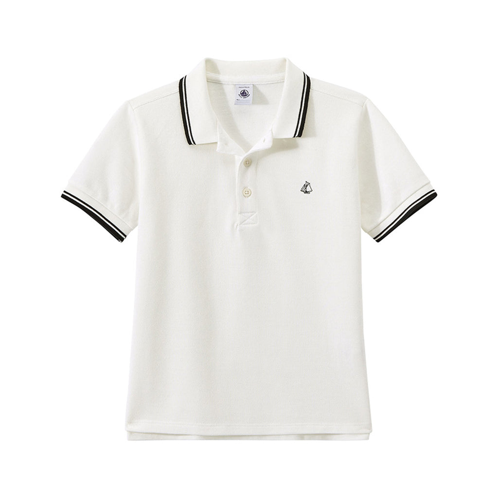 Boys' Polo Shirt in Piqué Jersey