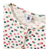 Girls Multi-Color Dots Cardigan