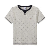 Boys Anchor Print T-shirt