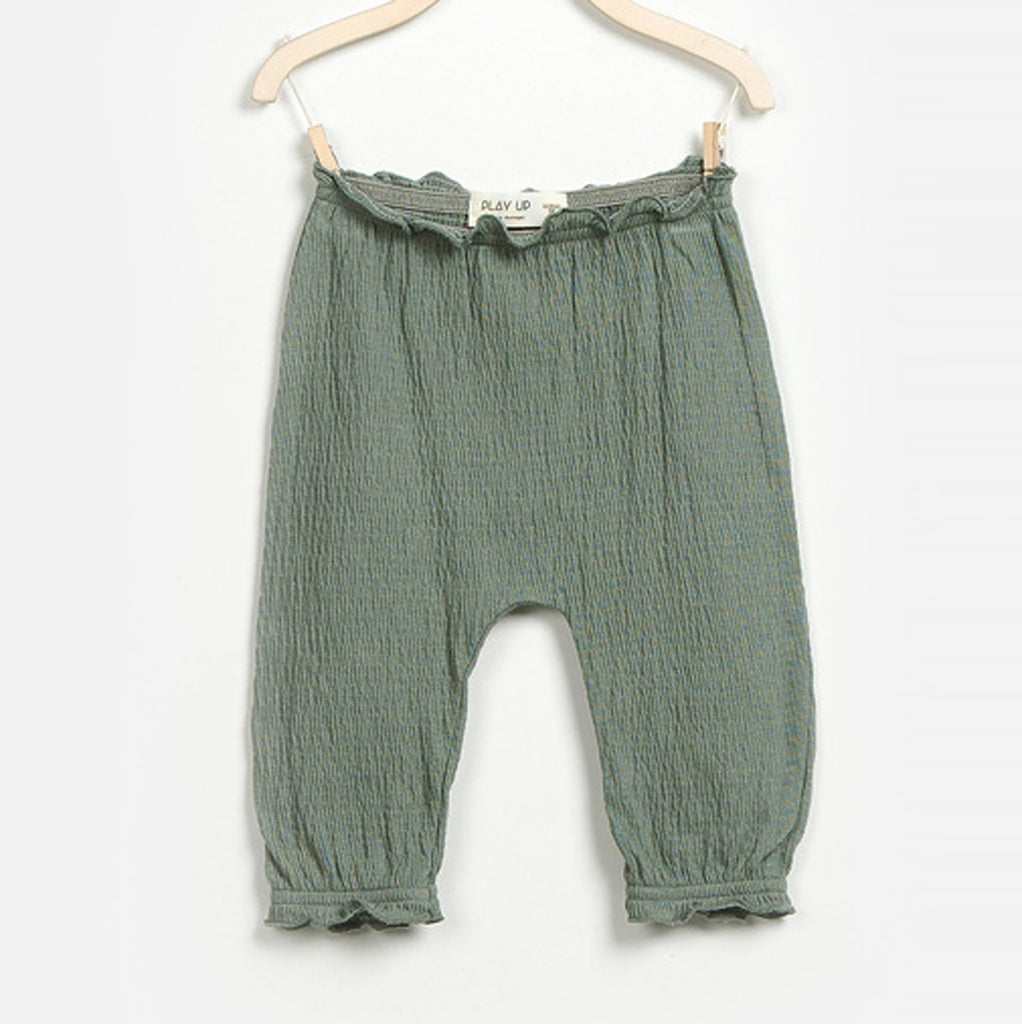 Baby Girls Green Pants