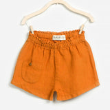 Baby Girls Flax Shorts