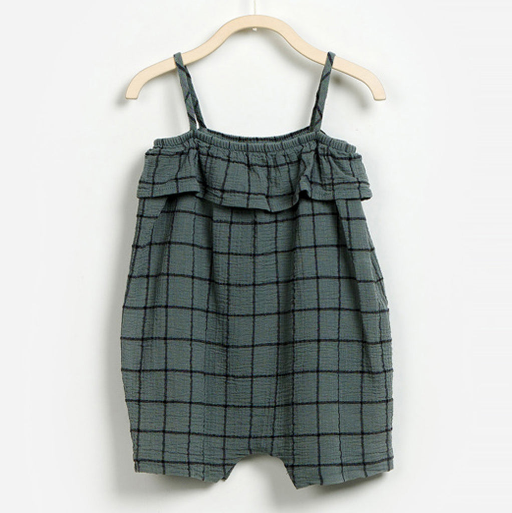 Baby Girls Woven Jumpsuit