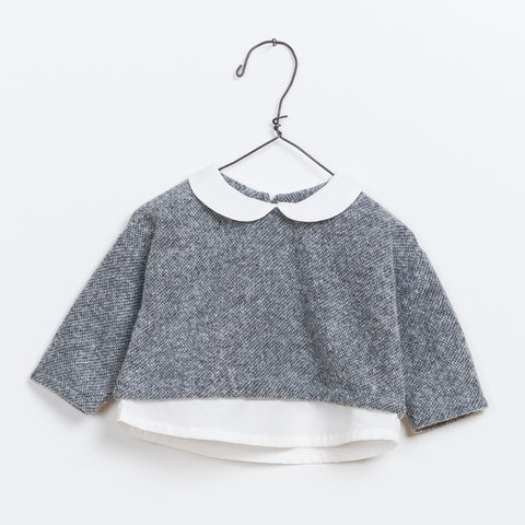 Baby Girls Mixed Sweater