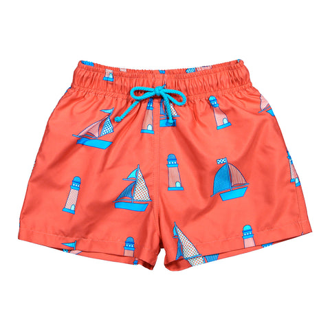 Float Your Boat Swim Trunks