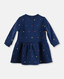 Baby Girls Multicolor Hearts Dress