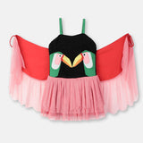 Girls Toucan Patch Dress