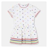 Girls Embroidered Stars Dress