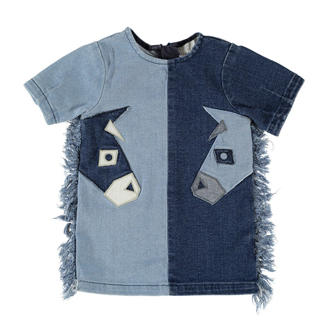 Maude Denim Donkeys Dress