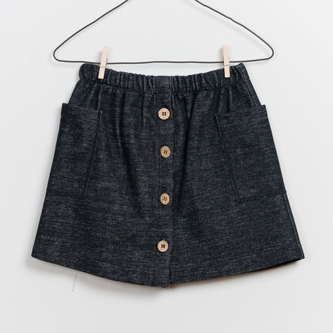 Girls Double Face Skirt
